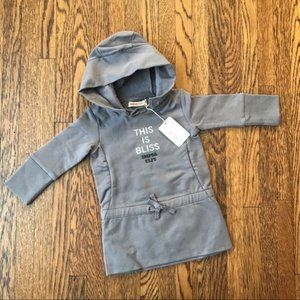 NWT IMPS & ELFS Hoodie Dress Tunic This Is Bliss